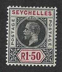 Seychelles  mh S.C.#  72