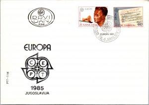 Yugoslavia, Worldwide First Day Cover, Europa