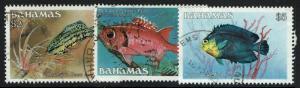 Bahamas SC# 616-618, Used, Minor Creasing - Lot 021217