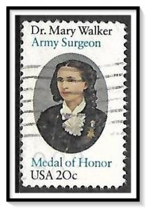 US #2013 Dr Mary Walker Used