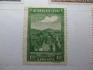 Serbien Serbia German Occupation 1943 1.50d Fine MNG A5P15F193