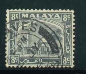 Malaya - Selangor Sct # 50; Used