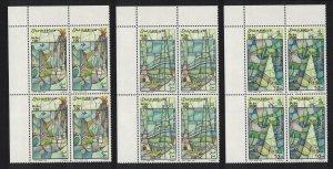 Somalia Intl Year of the Ocean Corner Blocks of 4 1998 MNH MI#713-715 CV?40.-