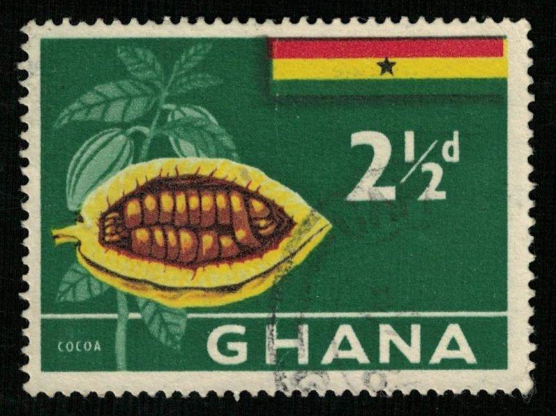 COCOA, Ghana, 2 1/2d (RT-331)