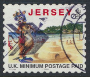 Jersey SG 772a Used Tourism Lillie the Cow 2000 SC# 786d See scan details