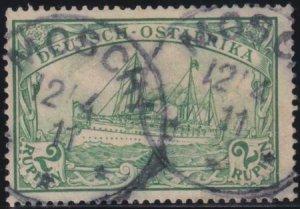 German East Africa 1900 SC 20 Used