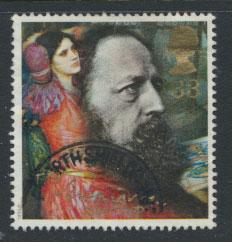 Great Britain SG 1609   Used  - Lord Tennyson