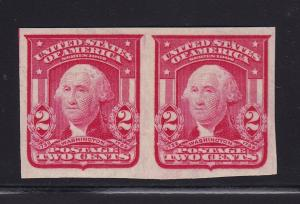 320 pair XF original gum never hinged with nice color cv $ 70 ! see pic !