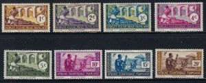 French Equatorial Africa 33-40 MLH BIN $4.00