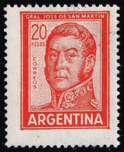 Argentina #698A Jose de San Martin; Used (0.25)