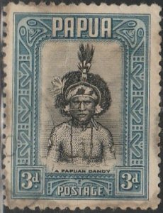 Papua, #98  Used From 1932
