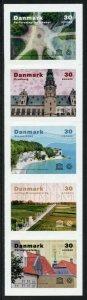 Denmark UNESCO Stamps 2020 MNH World Heritage Landscapes Architecture 5v S/A