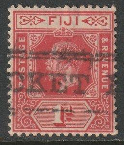 Fiji 1906 Sc 72 used Paquebot cancel