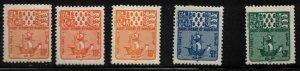 ST PIERRE & MIQUELON Scott # J68-70 MH - Postage Due With Duplication