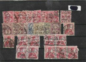 switzerland used cancels stamps Ref 9301