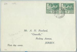 66795 - GB: Jersey - Postal History - FDC COVER Michel # 34 -  01.06.1943