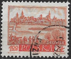 EFO 1960 Poland 956 with major color shift used.