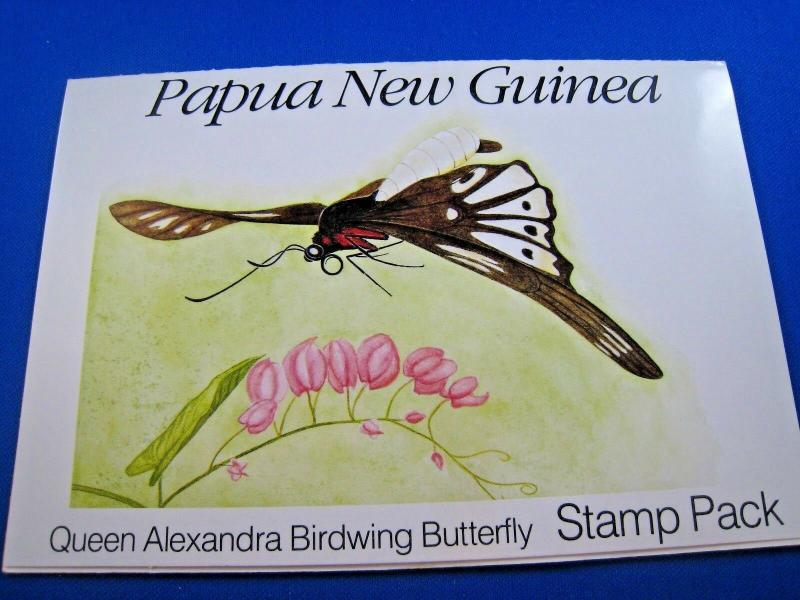 PAPUA NEW GUINEA  -  SCOTT # 697-700  STAMP PACK   MNH   (gg)