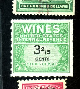 U.S. #RE183 MINT FVF Cat $20