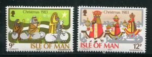 Isle Of Man #252-3 mint