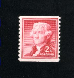 USA #1055  used 1954-1973 PD .08