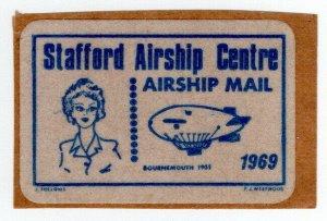 (I.B) Cinderella Collection : Stafford Airship Centre (Airship Mail)
