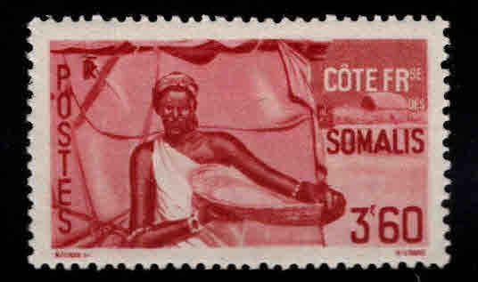 Somali Coast Scott 259 MH* stamp