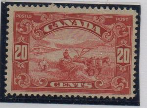 Canada Sc 157 1929 20c Harvesting Grain stamp mint NH
