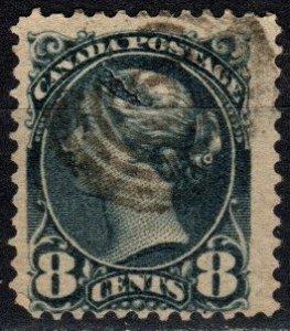 Canada #44  F-VF Used CV $7.00 (X5687)