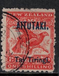 Aitutaki 1903 SC 6 Used SVC$ 95.00