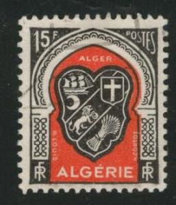 ALGERIA Scott 225 used from 1947 - 1949 stamp set