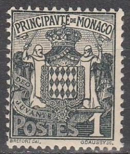 Monaco #60 Fine Unused (SU4592)