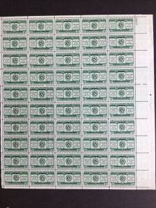 1955 sheet, Michigan State - Penn State, Land Grant Colleges Sc# 1065