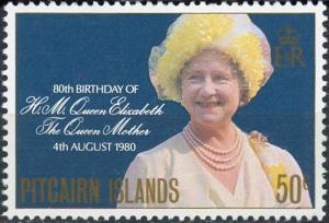 Pitcairn Islands #193 Queen Mother Elizabeth Birthday Issue MNH