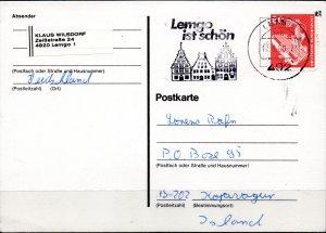 GERMANY BDR. Postal statinonery.