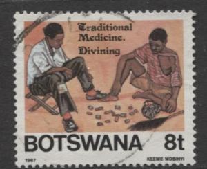 Botswana - Scott 393 - Traditional Medicine -1987 - VFU - Single 8t Stamp