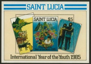 St Lucia 795 MNH International Year of the Youth