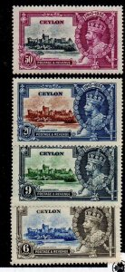 Celyon 260-263 Set Mint Never Hinged