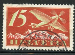 Switzerland # C3, Used. CV $ 8.25