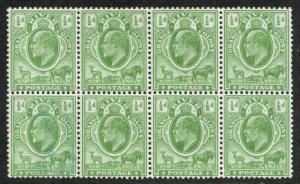Orange Free State KEVII 1903 1/2d Green Block Orange River Colony SG139 Mint MNH