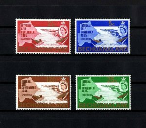 BECHUANALAND - 1965 - QE II - SELF GOVERNMENT - NOTWANI RIVER - MINT - MNH SET!