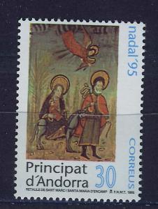 ANDORRA SPANISH 1995 MNH SC.235 Christmas