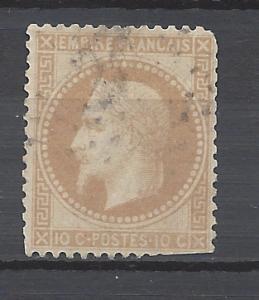 France 1867 Scott 32 u scv $6.00  Less 50% = $2.99 BIN