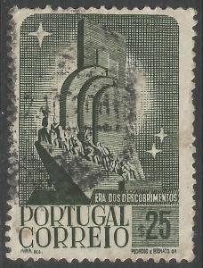 PORTUGAL 589 VFU V805