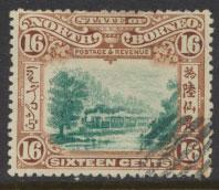 North Borneo  SG 107 Used  perf 14 please see scan & details