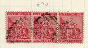 Cape of Good Hope 1884 Early Issue Fine Used 1d. 284457
