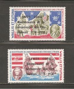 Wallis and Futuna Island 205-6 Mint Never Hinged