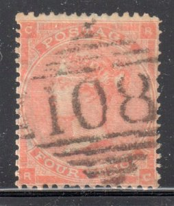 Great Brittain #34 used --- WMK 23 -- NO FAULTS -- C$75,00 - Special cancel #108