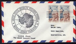 US Antarctic Research USNS Eltanin Cover