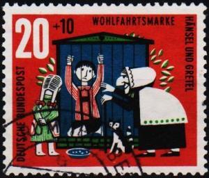 Germany. 1961 20pf+10pf  S.G.1285 Fine Used
